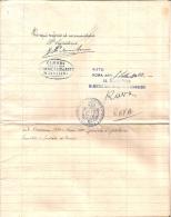 AUTOGRAFO MINISTRO AGRICOLTURA LUIGI RAVA DA RAVENNA 1900 - Autographs