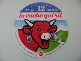 Etiquette Fromage Fondu - Vache Qui Rit - 12 Portions Bel 4 Etoiles  A Voir ! - Käse