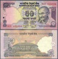 India 50 Rupees 2010 Pick 97 UNC - India