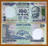 India 100 Rupees 2010 Pick 98 UNC - Indien