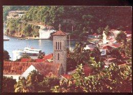 CPM Non écrite GUADELOUPE Terre De Haut L'Eglise Vue De La Chapelle - Guadeloupe