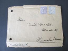 Niederländisch - Indien 1931 Brief Nach Hameln/Weser. Mischfrankataur. Johnnie Walker Label / Werbung.Still Going Strong - Nederlands-Indië