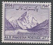 Pakistan. 1954 Conquest Of K2. 2a MH SG 72 - Pakistan