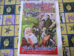 CALENDARIO FRATE INDOVINO 2012 NUOVO - Calendari
