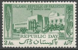 Pakistan. 1956 Republic Day. 2a MH SG 82 - Pakistan