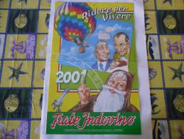 CALENDARIO FRATE INDOVINO 2001 NUOVO - Calendari
