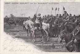 Allemagne - Gruss Von Gustav Adolph's Feste - Militaria - Schlacht Bei Lützen / Postmarked Goslar 1904 - Lützen
