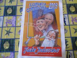 CALENDARIO FRATE INDOVINO 2003 NUOVO - Formato Grande : 1981-90