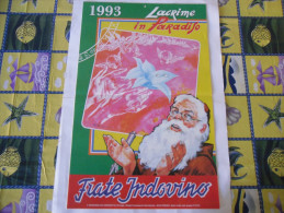 CALENDARIO FRATE INDOVINO 1993 NUOVO - Formato Grande : 1981-90