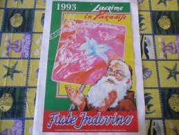 CALENDARIO FRATE INDOVINO 1993 NUOVO - Calendari