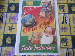CALENDARIO FRATE INDOVINO 1988 NUOVO - Formato Grande : 1981-90