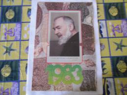 CALENDARIO FRATE MAGO PADRE PIO 1983 NUOVO - Formato Grande : 1981-90