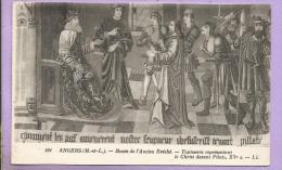 Dépt 49 - ANGERS -  Musée De L' Ancien Evêché -Tapisserie Représentant Le Christ Devant Pilate - XVè - Angers