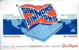 Buvard matelas Simmons n� 2