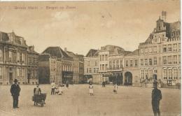 Bergen Op Zoom - Groote Markt - Geanimeerd ( Verso Zien ) - Bergen Op Zoom