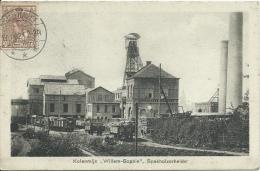 """Spekholzeheide - Top Kaart - Kolenmijn """" Willem-Sophie """"  -1921 ( Verso Zien ) - Nederland"""