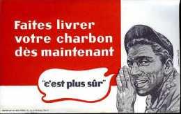 Buvard Faites Livrer Votre Charbon Dès Maintenant - Buvards, Protège-cahiers Illustrés