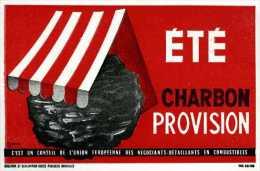 Buvard Été Charbon Provision - Buvards, Protège-cahiers Illustrés