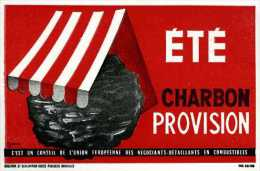 Buvard Été Charbon Provision - Vloeipapier
