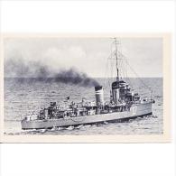 BRCTP1599-LFTD6457TTBG. Tarjeta Postal De España.Barco De Guerra.destructor JOSE LUIS DIEZ - Guerra
