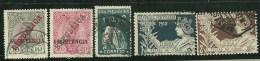 Portugal Assistência 5 Used Stamps - L3316 - Port Dû (Taxe)