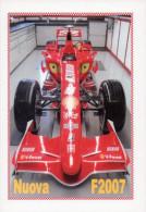 [DC1100] CARTOLINEA - FERRARI - NUOVA F2007 - Grand Prix / F1