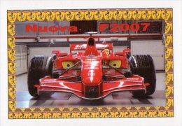 [DC1101] CARTOLINEA - FERRARI - NUOVA F2007 - Grand Prix / F1
