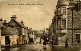 PERTHSHIRE - COMRIE - DRUMMOND STREET LOOKING EAST Prt96 - Perthshire