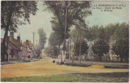 La Membrolle (I. Et L.) La Place  - Route Du Mans Et Mettray - Non Classés