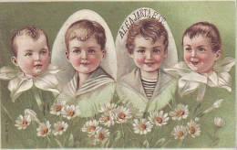539d: Ungarn Jugendstilkarte Esperanto- Kindermotiv/ Scan Vorder- Rs. Gescannt - Esperanto