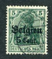 9571  Belgium 1916 ~ Michel #12  Used   ( Cat.€3.00 ) - Offers Welcome. - Besetzungen 1914-18