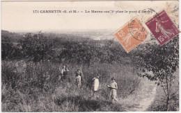 Carnetin (S. Et M.) La Marne Au 2ème Plan Le Pont D'Annet - France