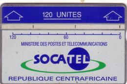 CENTRAFRICAINE SOCATEL 120U LANDIS ET GYR N° 010D.....UT - Central African Republic