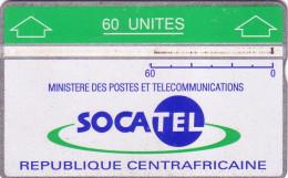 CENTRAFRICAINE SOCATEL 60U LANDIS ET GYR N° 010E.....UT - Central African Republic