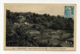 CP , 92 , CLAMART , Le Petit Clamart, Route Forestière De Verrières - Clamart