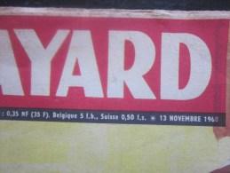 BAYARD >> BD Bandes Dessinées Série Bayard 13 Novembre 1960 Vintage - Bayard