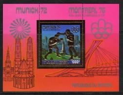 Sénégal B. F. N° 13B  XX Jeux Olympiques D´été à Montréal : 1000 F. Sur Or : Boxe TB - Senegal (1960-...)