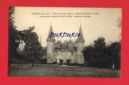 Gironde - LUDON - Château Pomiès- Agassac - Façade Principale Et Entrée - Construction Féodale ...Ancienne Baronnie - France