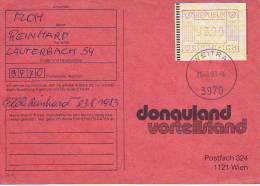 539s: Heimatbeleg 3970 Weitra Mit 3.00.- Österreich ATM- Ausgabe 1 (senkrechte Linien) - Machine Stamps (ATM)