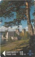 FINLAND - Kasalinna, Savonlinnan Puhelin telecard, CN : 6010, tirage 12000, exp. date 12/98, usedN