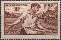 FRANCE  467 ** MNH Au Profit Du Secours National : Semeur Semailles Agrticulture - Unused Stamps