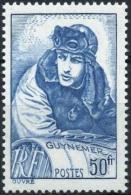 FRANCE  461 ** MNH Capitaine Georges GUYNEMER Aviateur Pilote Escadrille Cigognes (CV 20 €) - France
