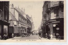 Bourges.. Très Animée.. Rue Moyenne.. Pharmacie.. Confiserie Patisserie.. Voitures - Bourges