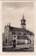 VALEGGIO - CHIESA PARROCCHIALE E MONUMENTO AI CADUTI - PAVIA - Vedi Retro - Formato Piccolo - Pavia