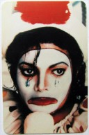 Unknown Card #09 - Michael Jackson? - Phonecards