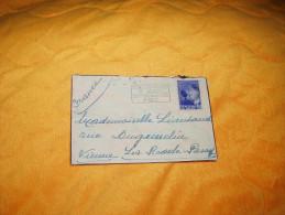 ENVELOPPE UNIQUEMENT DE 1937. / BELGIQUE BRUXELLE A LA ROCHE POSAY FRANCE / CACHETS + TIMBRE. - Unclassified