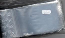 Große Hüllen #783 100 Polybeutel Mit Verschluß Neu 3€ Schutz/Einsortieren Lindner 80x120mm For Stamps Too Coins Of World - Enveloppes Transparentes