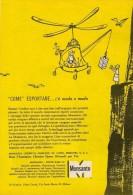 # 2/15 MONSANTO ST.LOUIS 1960s ITALY Advert Publicitè Reklame Chemistry Chemicals Plastic GMO Chemie Chimie Quimica OGM - Advertising