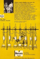 # 7/15 MONSANTO ST.LOUIS 1960s ITALY Advert Publicitè Reklame Chemistry Chemicals Plastic GMO Chemie Chimie Quimica OGM - Advertising