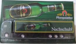 Camion HO 1/87° Mercedes-Benz Pfungstädter Nachschub! (neuf Sous Blister) - Baanvoertuigen